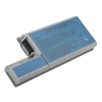Battery Dell Latitude D531 D820 D830 Precision M4300 M65 CF623 DF192 XD735 YD623 YD624 YD626 11.1V 5200mAh Black OEM