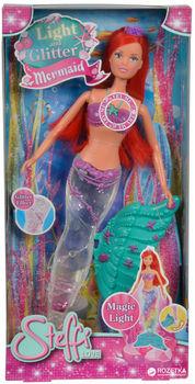 купить Simba Штеффи русалка со светящимся хвостом, 29 см в Кишинёве