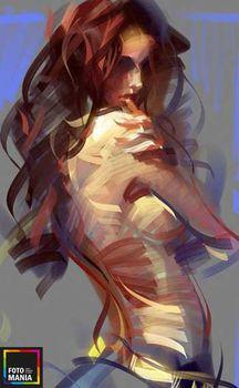 Картина Абстракция на холсте 0007