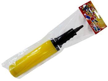 Насос ручной для воздушных шариков 30cm, 4 цвета
