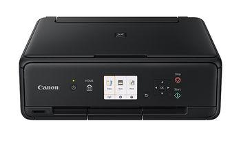 MFD Canon PIXMA TS5040 Black, Colour Print/Scan/Copier/Card Readers,Wi-Fi+Cloud Link,  A4, Print 4800x1200dpi_2pl,Scan 1200x2400dpi,ESAT 12.6/9.0ipm, 64-300г/м2,Paper Input: 100sheets,USB 2.0, Display LCD 7.5cm,5-ink tanks PGI-470/470XL BK,PGBK,C,M,Y