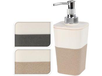 Диспенсер для жидкого мыла квадратный H17cm, пластик