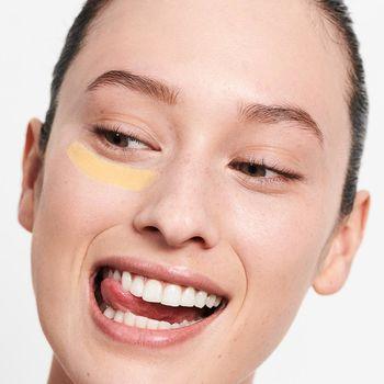 Цветной Корректор - Желтый - против темных кругов под глазами