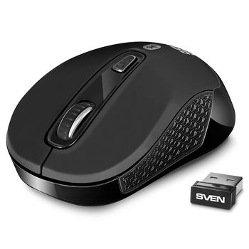 Wireless Mouse Sven RX-575SW Silent, Black