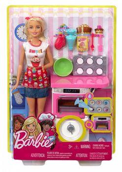 "Игровой набор Барби ""Шеф-повар - кондитер"", код FHP57"