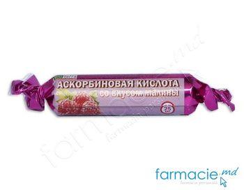 купить Acid ascorbic cu zahar 2,6g comp. 10x10 (zmeura) в Кишинёве