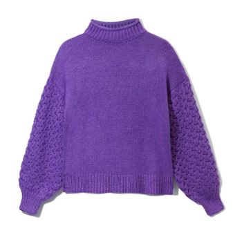 Трикотаж RESERVED Фиолетовый ua458-48x
