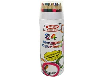 Набор карандашей цветных 24шт в тубе