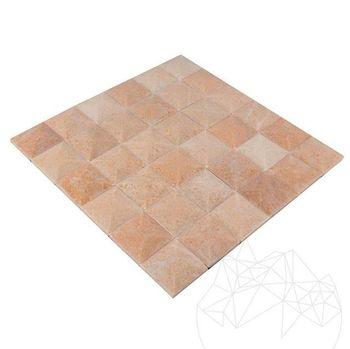 купить Мозаика Мраморная Родон Пирамида Полированная в Кишинёве
