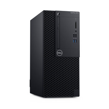 DELL OptiPlex 3070 SFF lntel® Core® i5-9500T, 8GB (1X8GB) DDR4, M.2 256GB PCIe NVMe SSD, 8x DVD+/-RW, lnteI® UHD630 Graphics, Wi-Fi/AC-MU-MIMO/BT4.1, TPM, 65W PSU, USB mouse MS116 , USB KB216-B, Win10Pro, Black