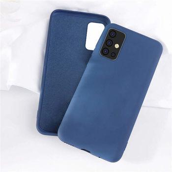 купить Чехол ТПУ Helmet Liquid Samsung Galaxy A02s(A025), Blue в Кишинёве