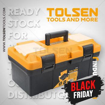 купить Ящик для инструментов Пластиковый . (420X230X190мм) Tolsen в Кишинёве
