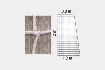 Сетка для гандбола 3х2х0.8х1.2 м / 2 мм / №103 (2661) (под заказ)