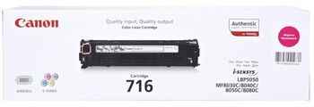 Cartridge Canon 716, (HP CB543A), magenta (1500 pages) for LBP-5050/5050N, MF8030Cn/8050Cn/8080Cw