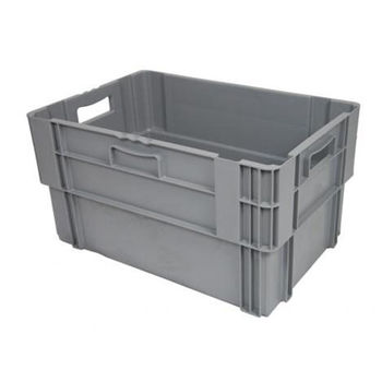 cumpără Ladă din plastic 600X400X320 mm, gri în Chișinău