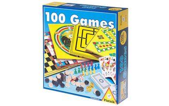 """Настольная игра """"100 игр"""", код 41422"""