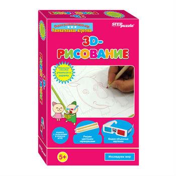 """Развивающая игра """"3D-рисование"""", код 40750"""