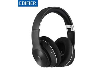 Edifier W828NB Black / Bluetooth, Active Noise Canceling, Bluetooth v5.0 aptX,3.5 mm jack, Dynamic driver 40 mm, Frequency response 20 Hz-20 kHz, On-ear controls, Ergonomic Fit, 25 hours playback with Bluetooth and ANC functions switched on