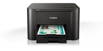 купить Printer Canon MAXIFY iB4140, Colour Print,Net,Wi-Fi+Cloud Link, ADF(50-sheet), A4, Print 600x1200dpi_2pl, ESAT 24.0/15.5ipm, 64-275г/м2, Max.30k pages per month,Paper Input: 500sheets, USB 2.0, 4-ink tanks PGI-2400XL BK,C,M,Y в Кишинёве