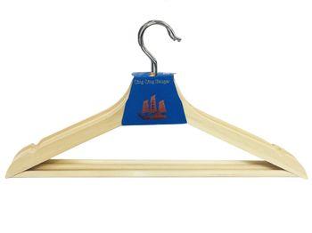 Набор вешалок деревянных 3 шт 43-40.5cm