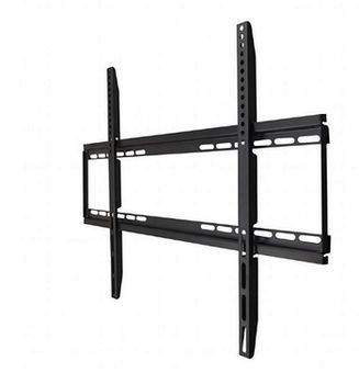 "TV-Wall Mount for 40-75""- Gembird ""WM-75F-01"", Fixed, max. 50 kg, Distance TV to Wall: 24 mm, max. VESA 600 x 400, Black"