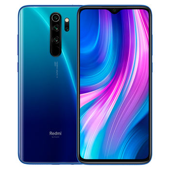 "Xiaomi RedMi Note 8 PRO EU 64GB Blue, DualSIM, 6.53"" 1080x2340 IPS, Helio G90T, Octa-Core 2.05GHz, 6GB RAM, Mali-G76MC4, microSD (uses shared SIM2), 64MP+8MP+2MP+2MP/20MP, LED flash, 4500mAh, WiFi-AC/BT5.0, LTE, Android 9.0 (MIUI10), Infrared port"