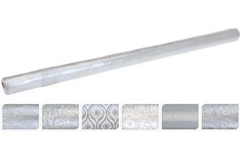 "Бумага оберточная для подарков H70cm, L2m ""серебряная"""