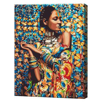 Принцесса Зимбабве, 40х50 см, картина по номерам  BS23464