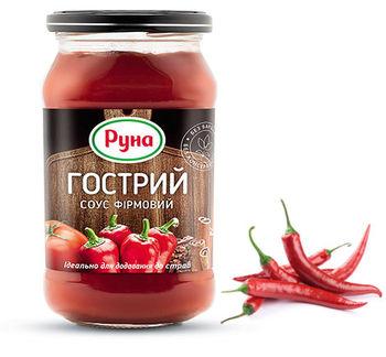 """купить """"RUNA Острый"""" Соус фирменный 485гр. в Кишинёве"""