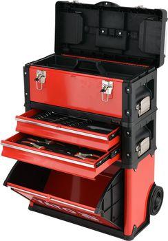 купить Шкаф для инструментов 3 отсека 78 шт. YATO (09104YT) в Кишинёве