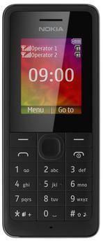 Nokia 107 Dual Sim (Black)