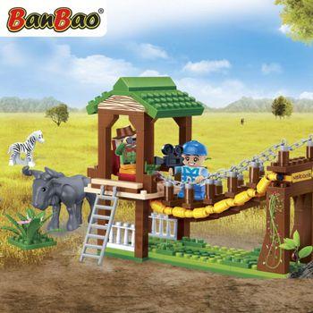 BanBao 6658 Safari Walking Bridge -232 blocks