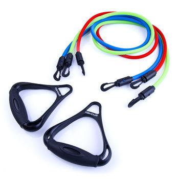 купить Эспандер для грудных мышц Spokey Backer II Rubber Chest Pull 3pcs x 140 cm, 920953 в Кишинёве