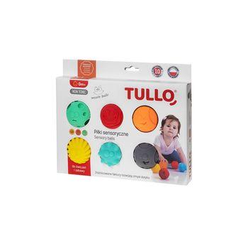 купить Сенсорные мячики TULLO 6 шт в Кишинёве