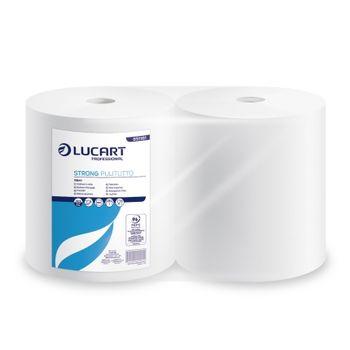 STRONG PULITUTTO Бумажные полотенца белые с центральной вытяжкой 2 слоя 800 отрывов