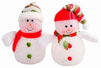 """Украшение светящееся LED """"Снеговик"""" 12cm"""