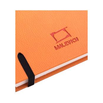 Скетчбук Малевичъ для акварели Veroneze, оранжевый, 200 гм, 14,5х14,5 см, 40л