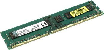 8Gb Kingston ValueRam DDR3-1600 PC12800 CL11, STD Height 30mm