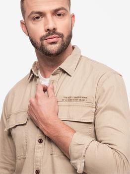 Рубашка TOM TAILOR Беж