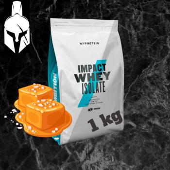 Изолят сывороточного белка - Impact Whey Isolate - Соленая карамель - 1 KG