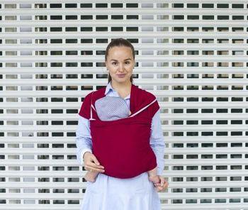 купить Трикотажный слинг-шарф Бордо WrapBag by Bagy в Кишинёве