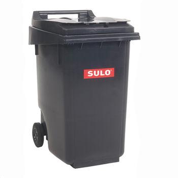 купить Контейнер для мусора 360 л, черный в Кишинёве