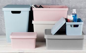 Коробка с крышкой для хранения 11Лит Vinto Gondol
