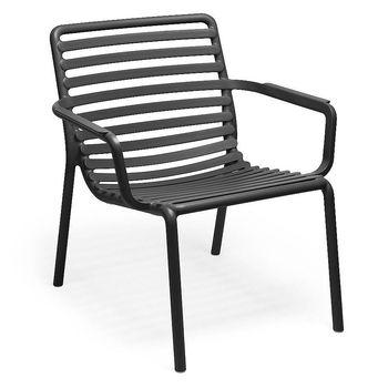 Лаунж Кресло Nardi DOGA RELAX ANTRACITE 40256.02.000 (Лаунж Кресло для сада и террасы)