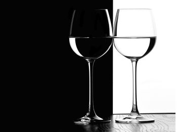Картина напечатанная на холсте - Black & White 0010 / Печать на холсте