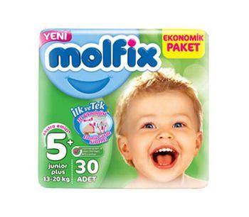 купить Molfix подгузники Junior 5, 13.20 кг. 30 шт в Кишинёве