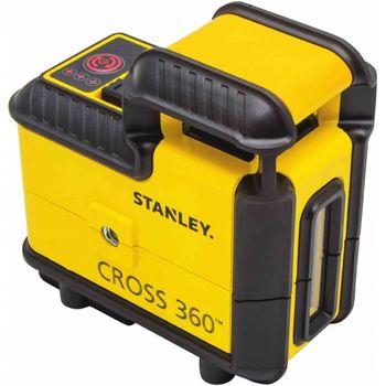 купить Уровень лазерный Stanley Cross 360 Red в Кишинёве