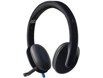 Logitech USB Headset H540, Headset: 20Hz-20kHz, Microphone: 100Hz-10kHz, 2.5m cable, 981-000480 (casti cu microfon/наушники с микрофоном)