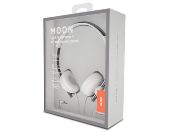 Acme MOON Light headphones + mic and remote control, White, 20Hz-20KHz, Headphones: 115 dB ± 3 dB, Microphone: -42 ± 3 dB, 32 Ohm, 1.2m (casti cu microfon/наушники с микрофоном), www