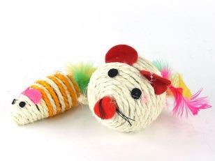 купить Мышь + мяч, веревочные в Кишинёве